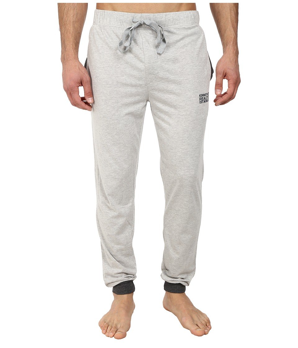 Kenneth Cole Reaction - Jersey Pants (Light Grey Heather) Men