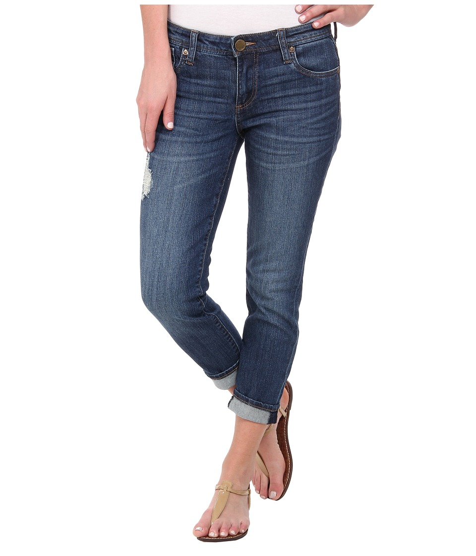 KUT from the Kloth - Catherine Slim Boyfriend in Try/Medium Base Wash (Try/Medium Base Wash) Women's Jeans