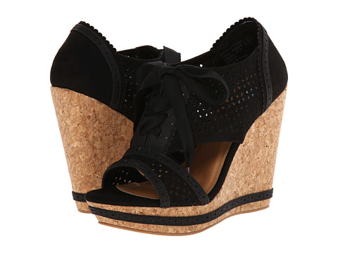 Not Rated - Cantina (Black) Women's Wedge Shoes