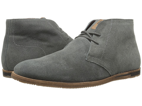 Ben Sherman - Becker Suede (Grey) Men's Lace-up Boots