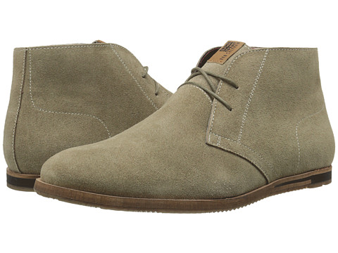 Ben Sherman - Becker Suede (Stone) Men's Lace-up Boots