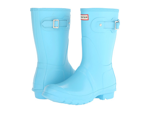 Hunter - Original Short (Sky Blue) Women's Rain Boots