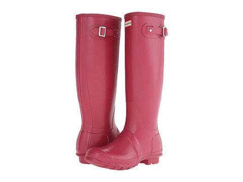 Hunter - Original Tall (Raspberry) Women's Rain Boots