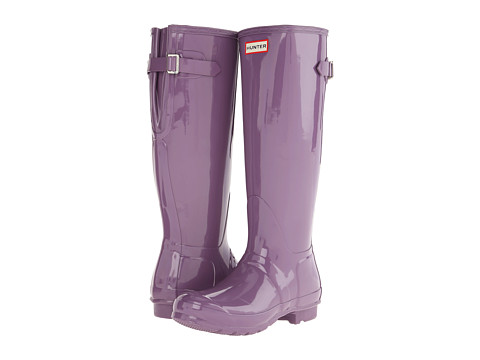 Hunter - Original Back Adjustable Gloss (Dusty Lavender) Women