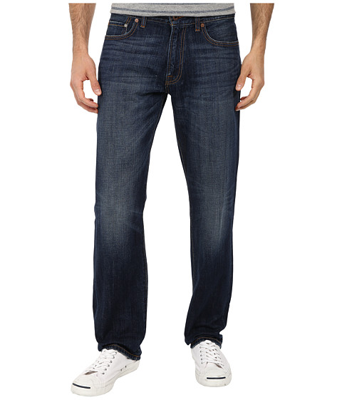 Lucky Brand - 221 Original Straight in Cozumel (Cozumel) Men's Jeans