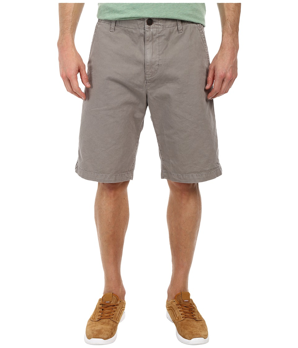 Lucky Brand - Vista Flat Front Shorts (Grey Gray) Men