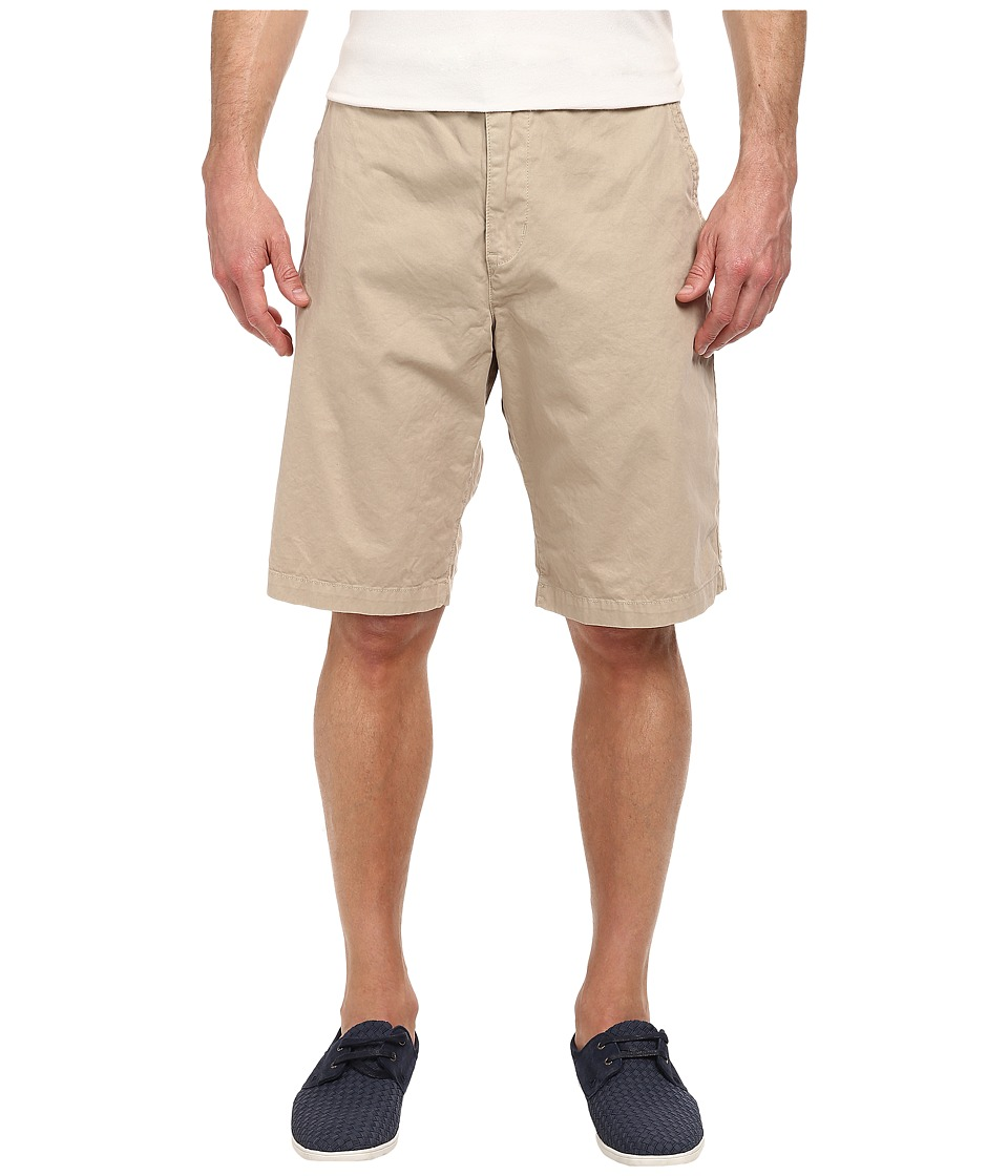Lucky Brand - Vista Flat Front Shorts (Monterey Khaki) Men