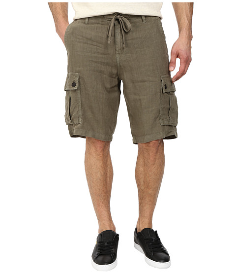 Lucky Brand - Newport Linen Cargo Shorts (Field Green) Men's Shorts