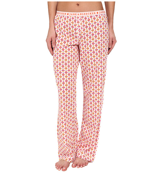 Jane & Bleecker - Jersey Pants 358910 (Flower Power) Women's Pajama