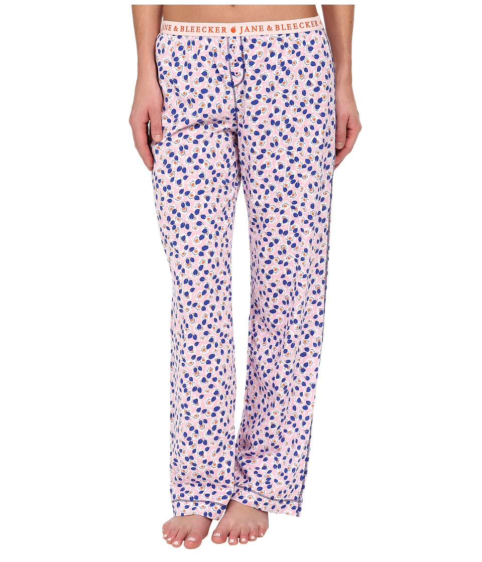 Jane & Bleecker - Jersey Pants 358910 (Fields Floral) Women's Pajama