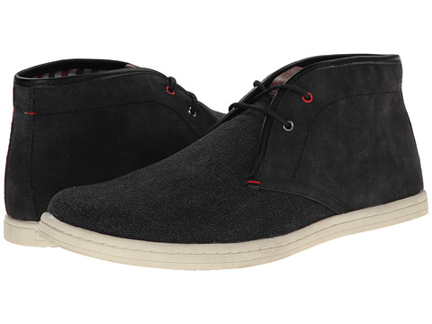 Ben Sherman - Victor Canvas (Black) Men's Lace-up Boots