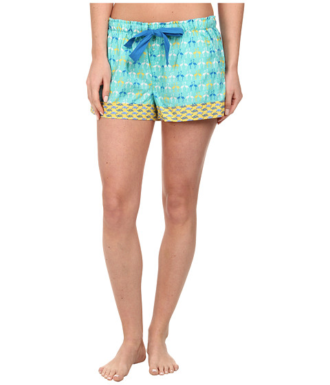 Jane & Bleecker - Batiste Shorts 351900 (Two Flamingos) Women's Pajama