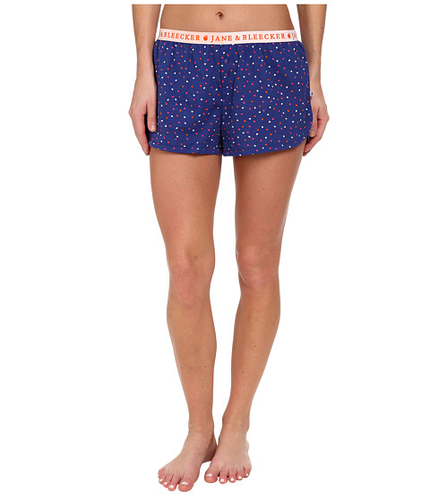 Jane & Bleecker - Jersey Shorts 357910 (Love Confetti) Women