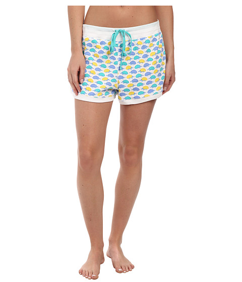 Jane & Bleecker - Rib Shorts 354920 (Hedgehog Crossing) Women's Pajama