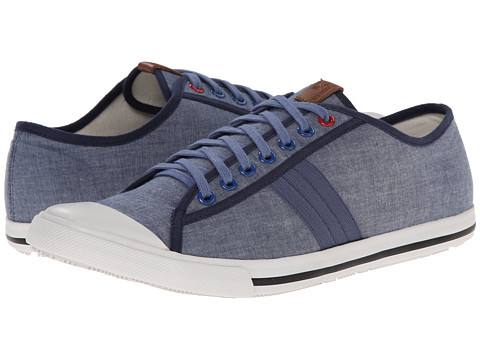 Ben Sherman - Eddie (Blue Chambray) Men's Lace Up Cap Toe Shoes