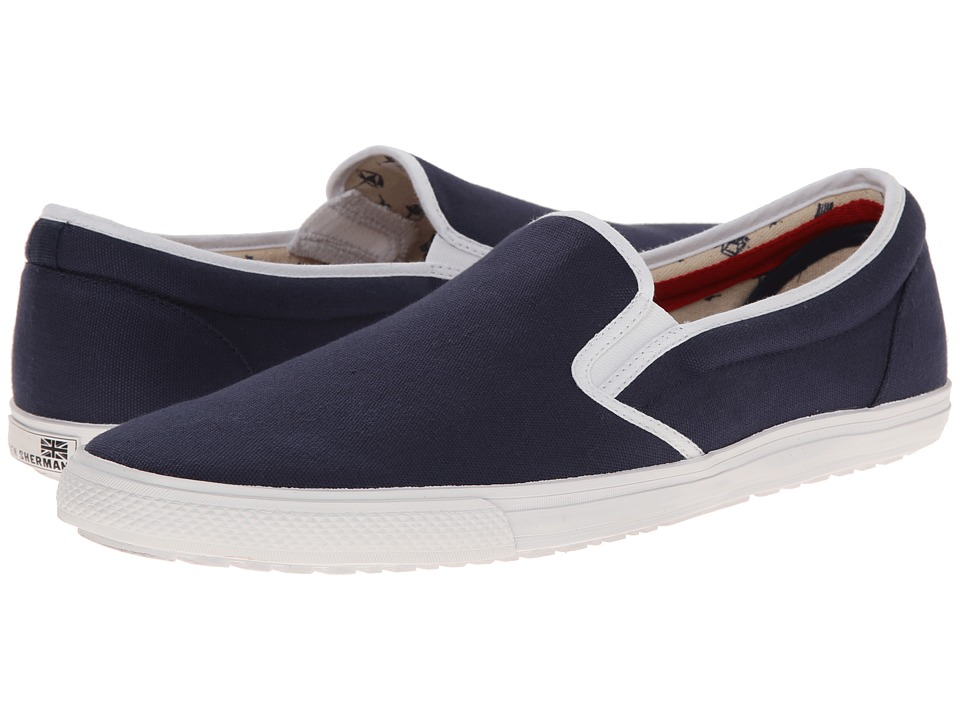 Ben Sherman - Buster (Navy) Men's Slip on Shoes