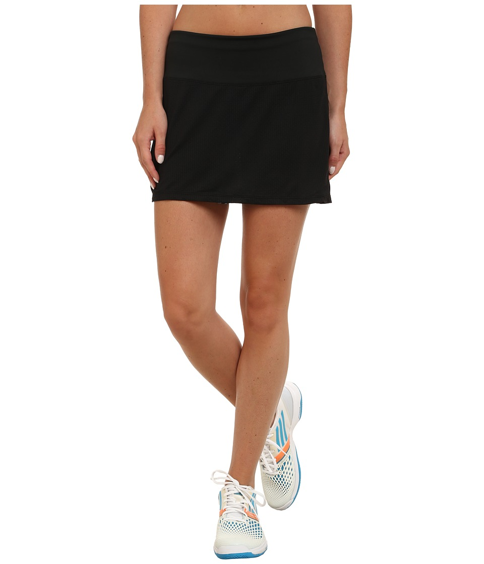 Skirt Sports - Peek-A-Boo Skirt (Black/Safari Print) Women