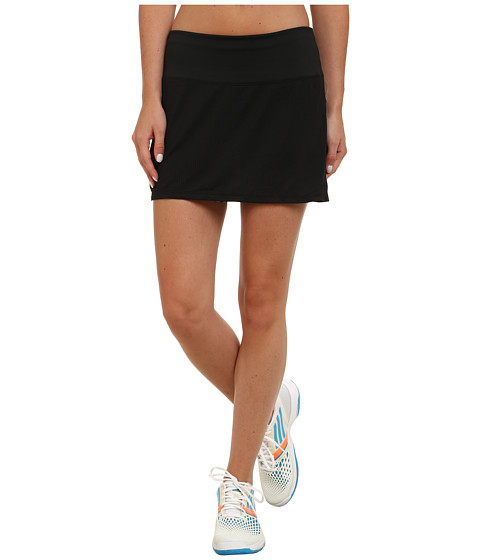 Skirt Sports - Peek-A-Boo Skirt (Black/Safari Print) Women's Skort