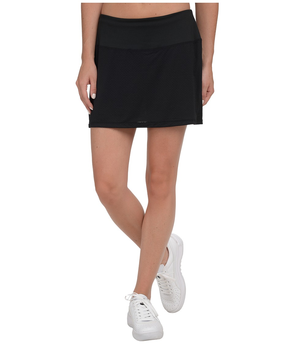 Skirt Sports - Peek-A-Boo Skirt (Black) Women's Skort