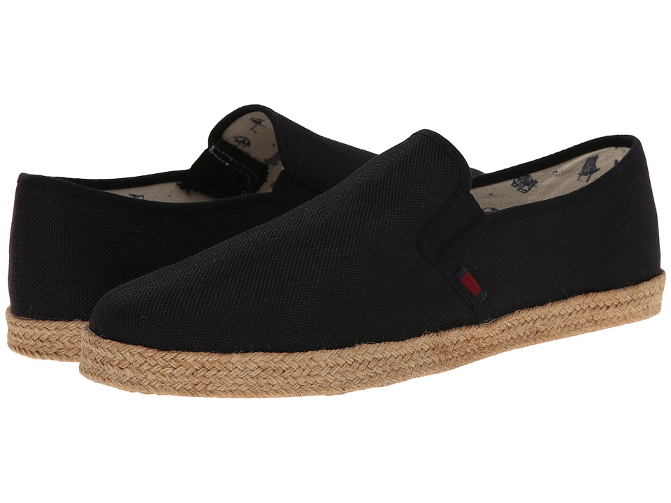 Ben Sherman - Prill Slip-On 2 (Black Linen) Men's Slip on Shoes