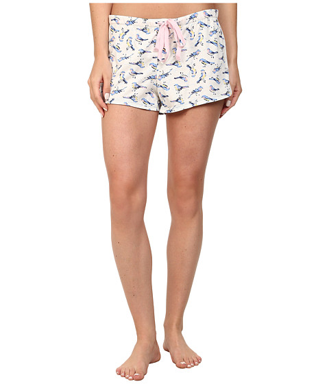 Jane & Bleecker - Jersey Shorts 357951 (Host Of Sparrows) Women's Pajama
