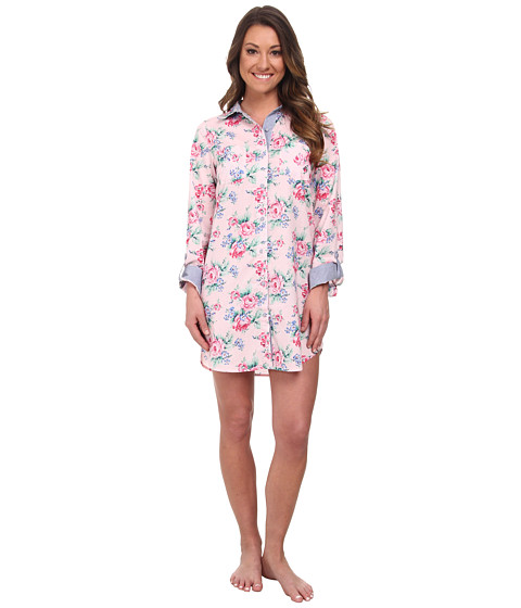 Jane & Bleecker - Batiste Sleepshirt 356952 (Rose Chintz) Women's Pajama