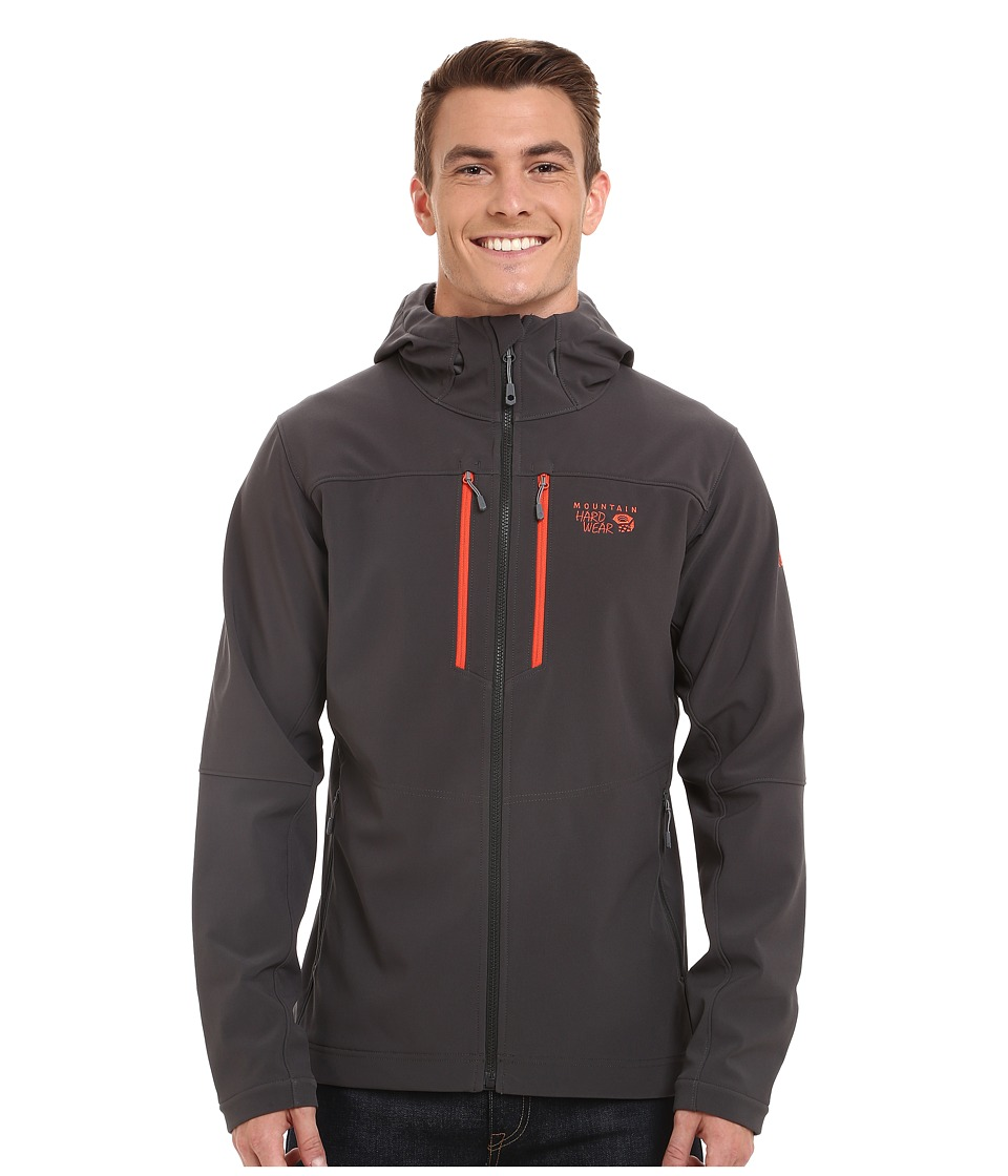 Mountain Hardwear - Hooded Hueco Jacket (Shark) Men's Coat