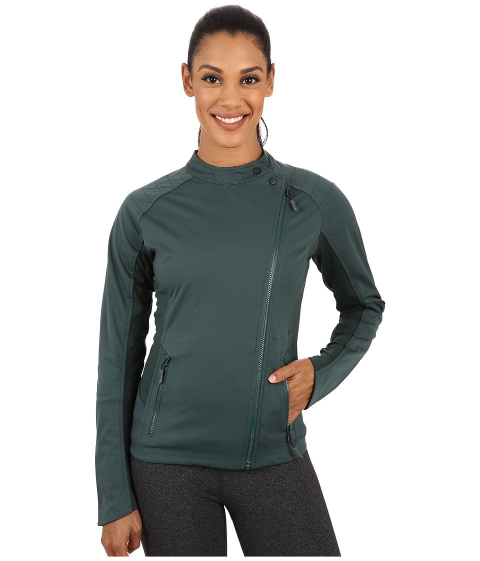 ASICS - Tier One Jacket (Hampton Green) Women's Workout