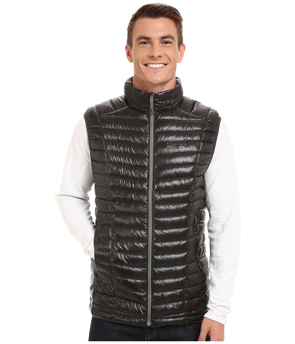Mountain Hardwear - Ghost Whisperer Down Vest (Shark/Titanium) Men's Vest