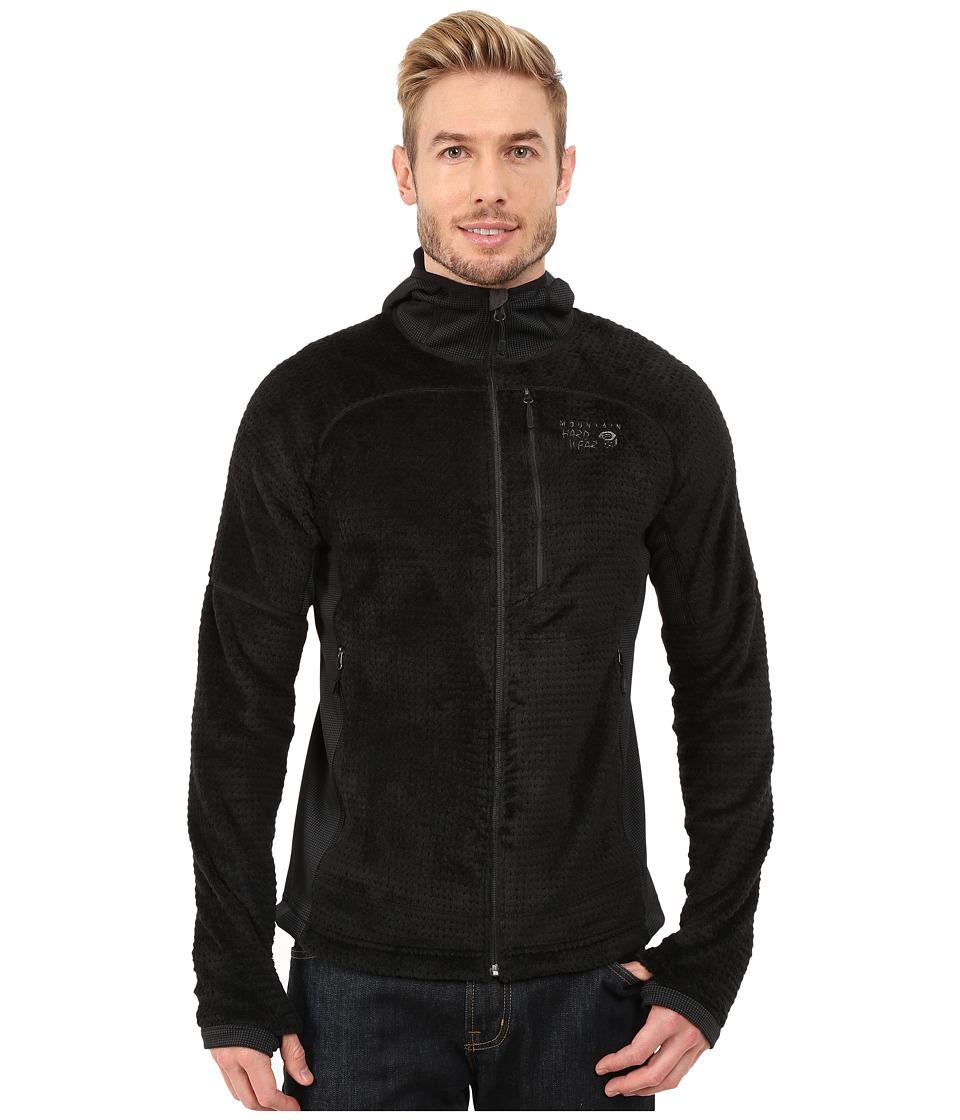 Mountain Hardwear - Monkey Man Grid II Hooded Jacket (Black/Shark) Men's Coat