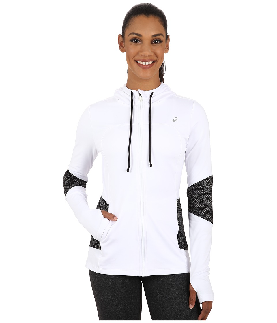 ASICS - Thermopolis Hoodie (Real White) Women's Sweatshirt