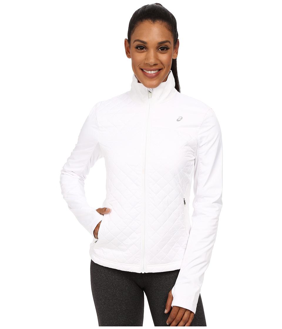 ASICS - Thermopolis Windblocker Jacket (Real White) Women's Workout