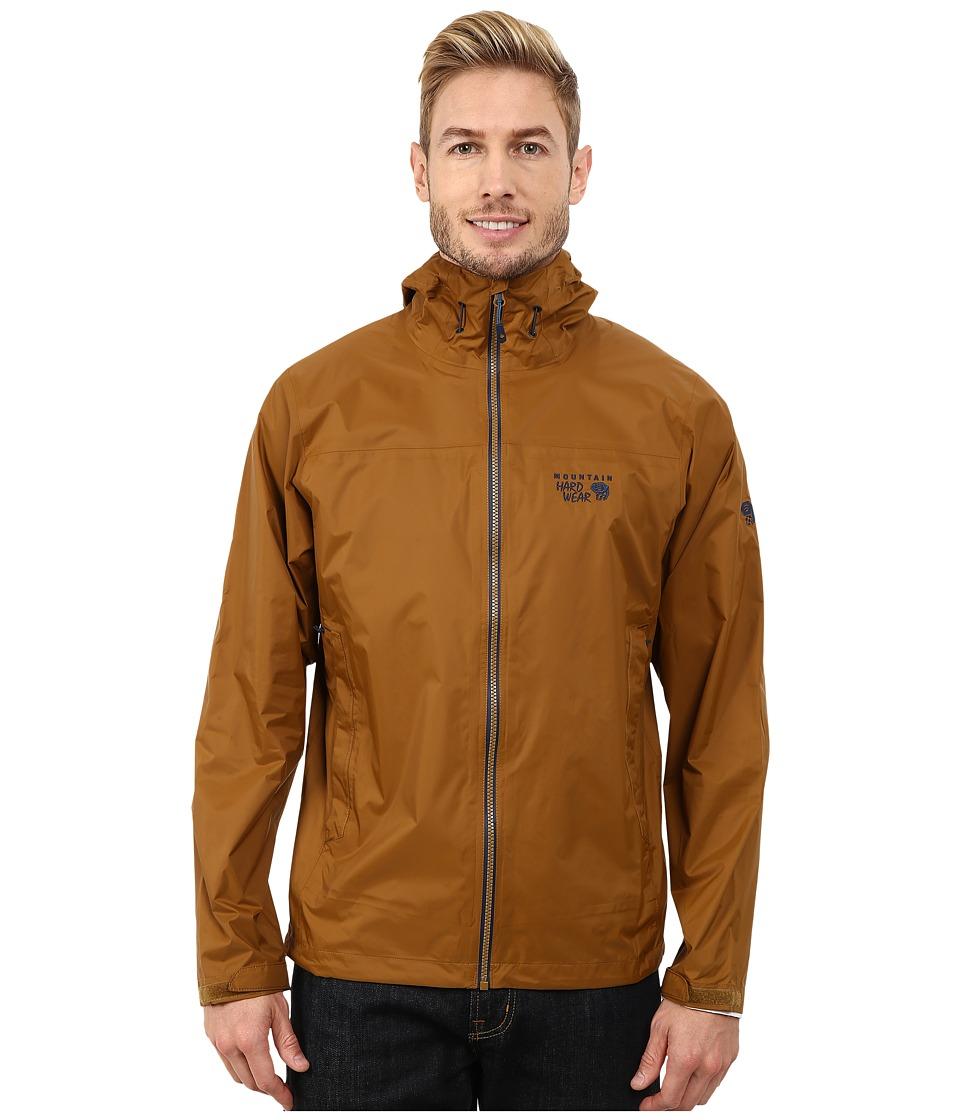 Mountain Hardwear - Plasmic Ion Jacket (Golden Brown/Hardwear Navy) Men
