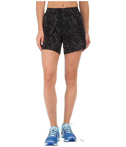 ASICS - Performance Run Woven Short 5.5 (Black Palm) Women