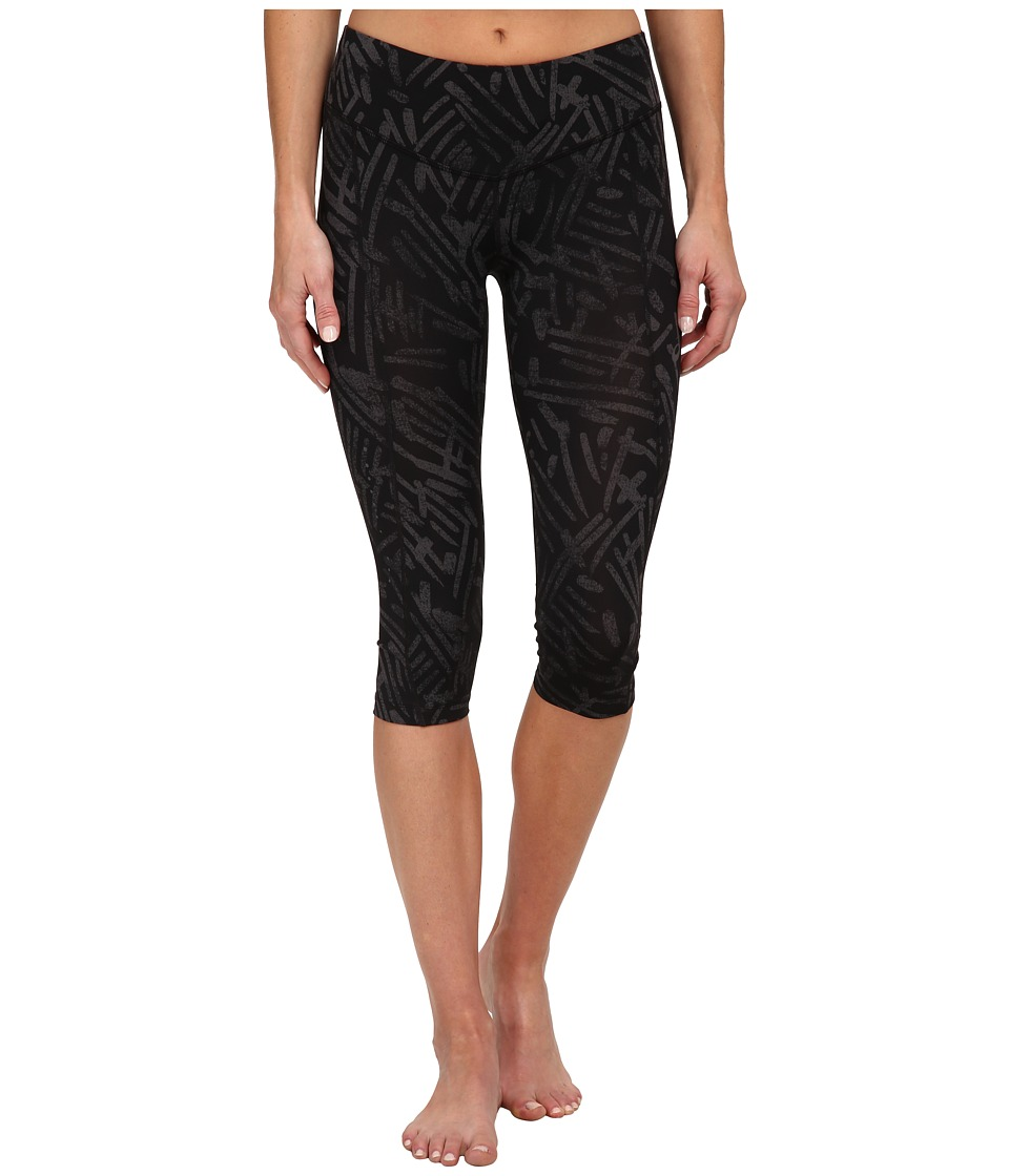 ASICS - Performance Run Graphic Knee Tight (Black Palm) Women's Workout