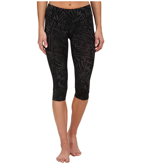 ASICS - Performance Run Graphic Knee Tight (Black Palm) Women