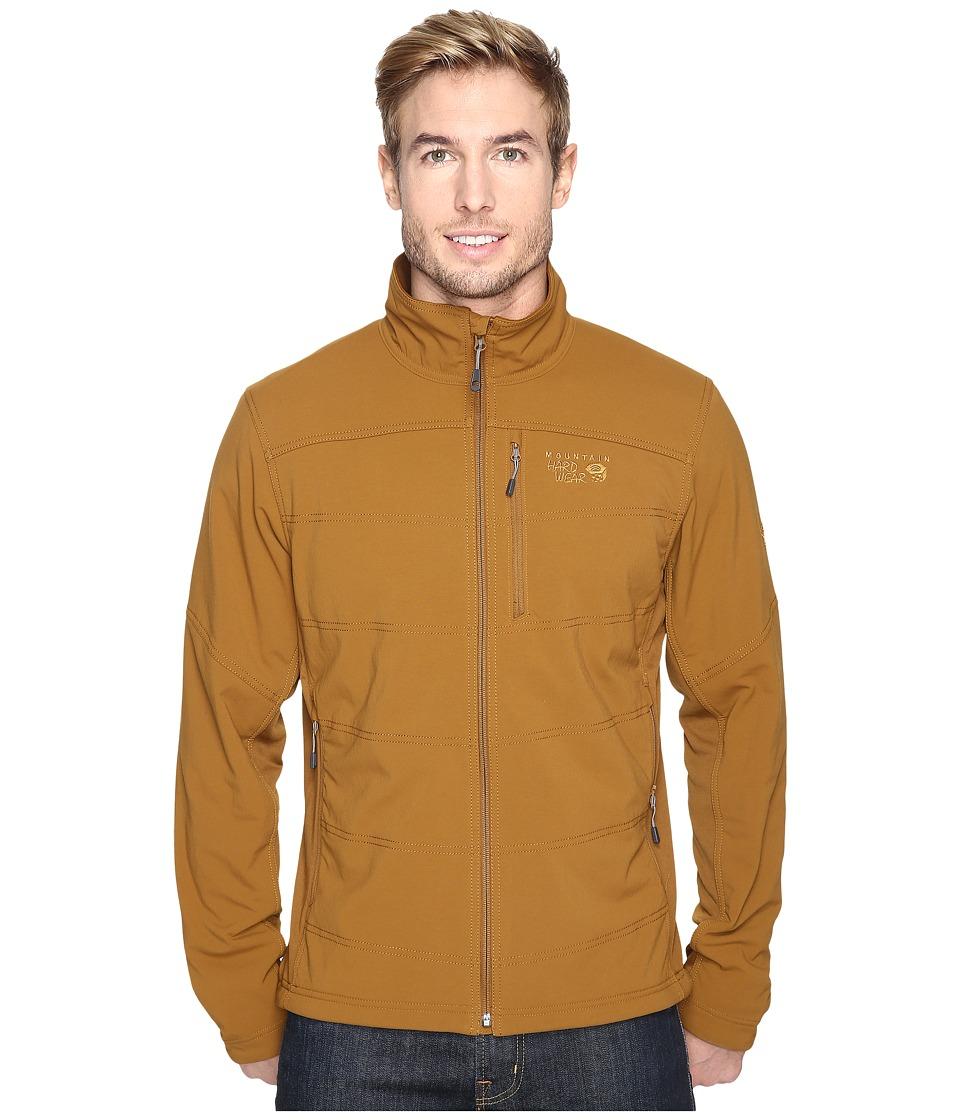 Mountain Hardwear - Ruffner Hybrid Jacket (Golden Brown) Men's Coat