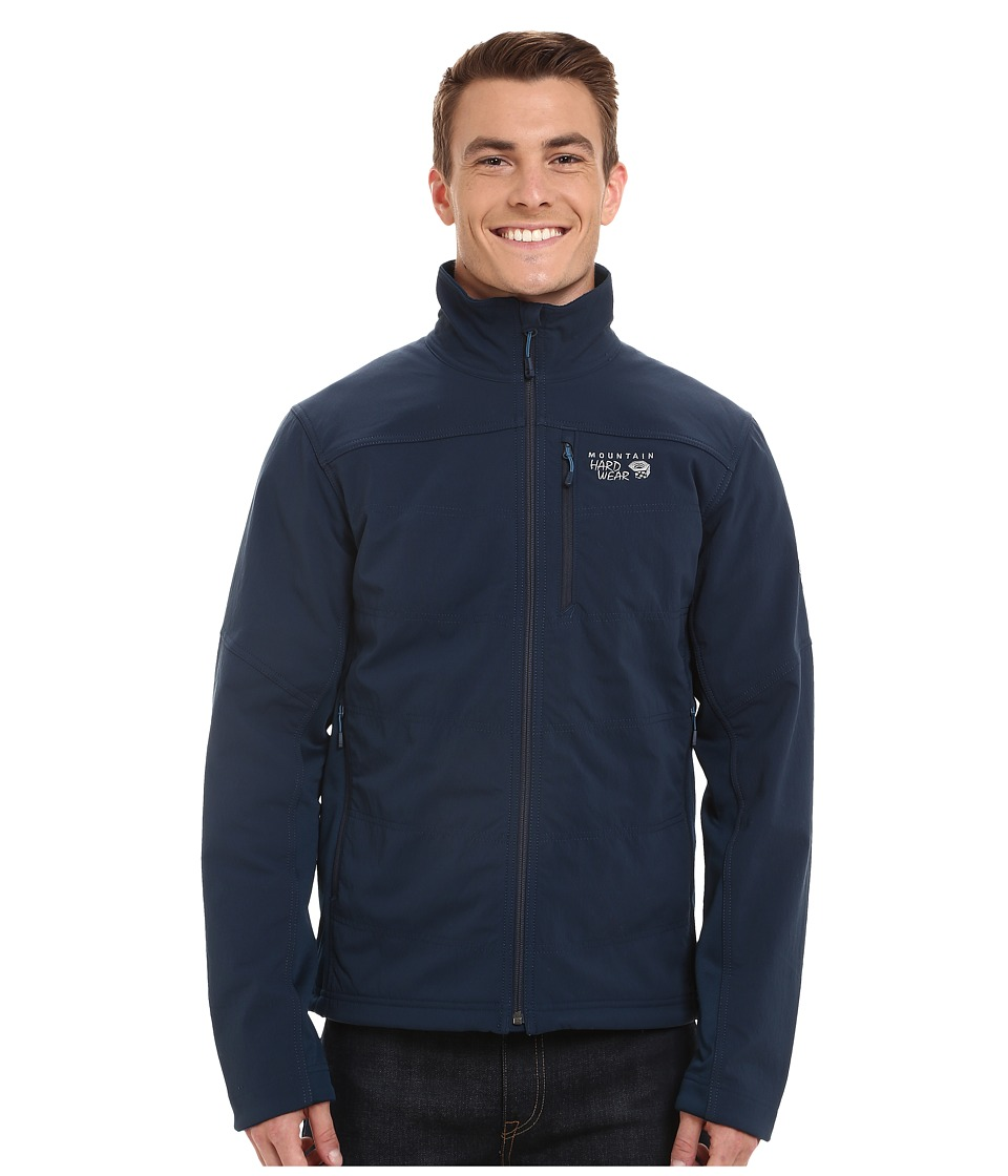 Mountain Hardwear - Ruffner Hybrid Jacket (Hardwear Navy) Men's Coat