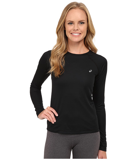 ASICS - Performance Run Core Long Sleeve Top (Performance Black) Women's Workout