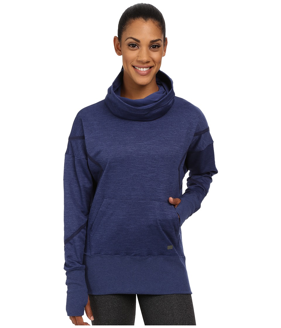 ASICS - Studio Fit Sana Hoodie (Indigo Blue) Women's Sweatshirt