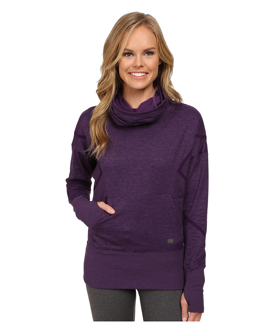 ASICS - Studio Fit Sana Hoodie (Blackberry Cordial) Women's Sweatshirt