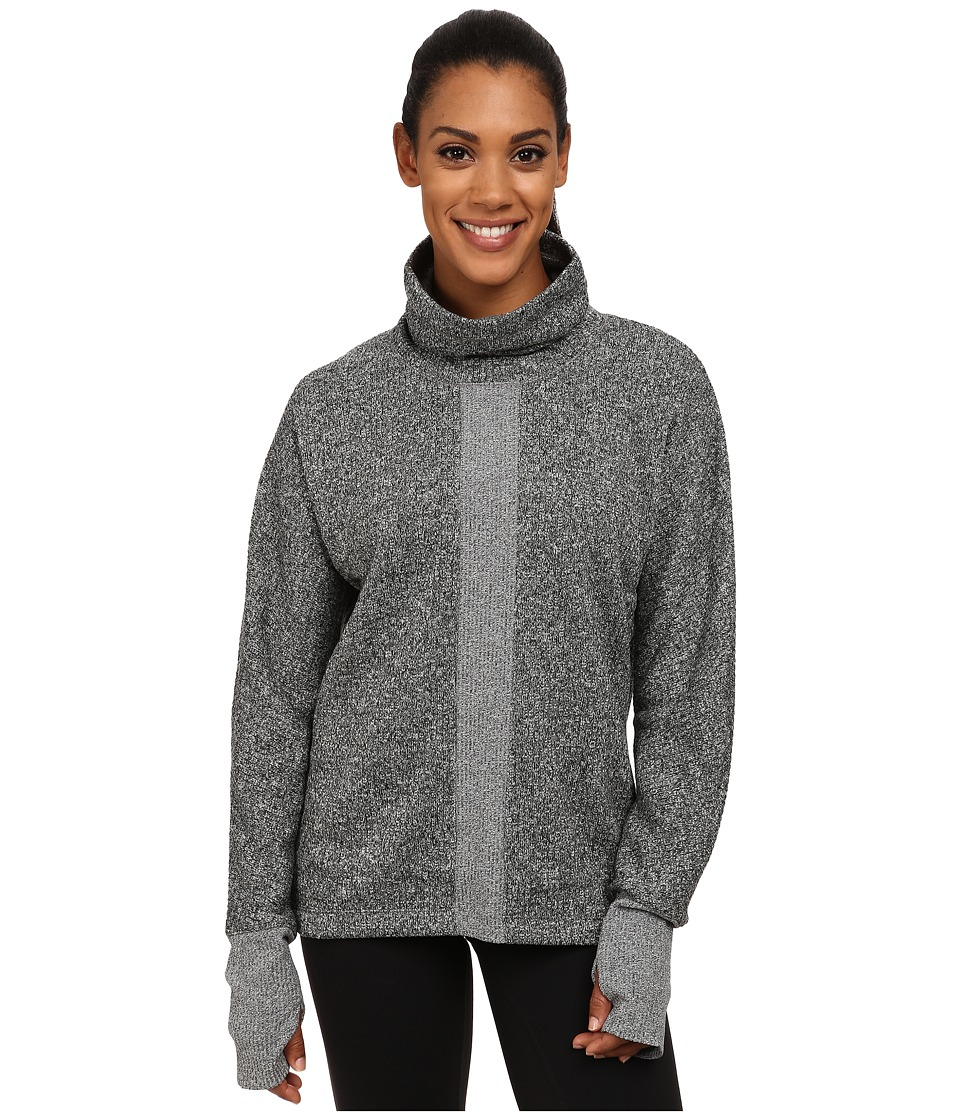 ASICS - Studio Mock Neck Layering Long Sleeve (Performance Black) Women's Workout