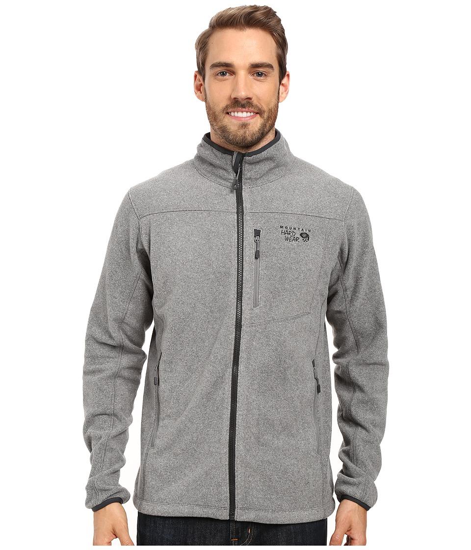 Mountain Hardwear - Strecker Jacket (Heather Titanium) Men's Jacket