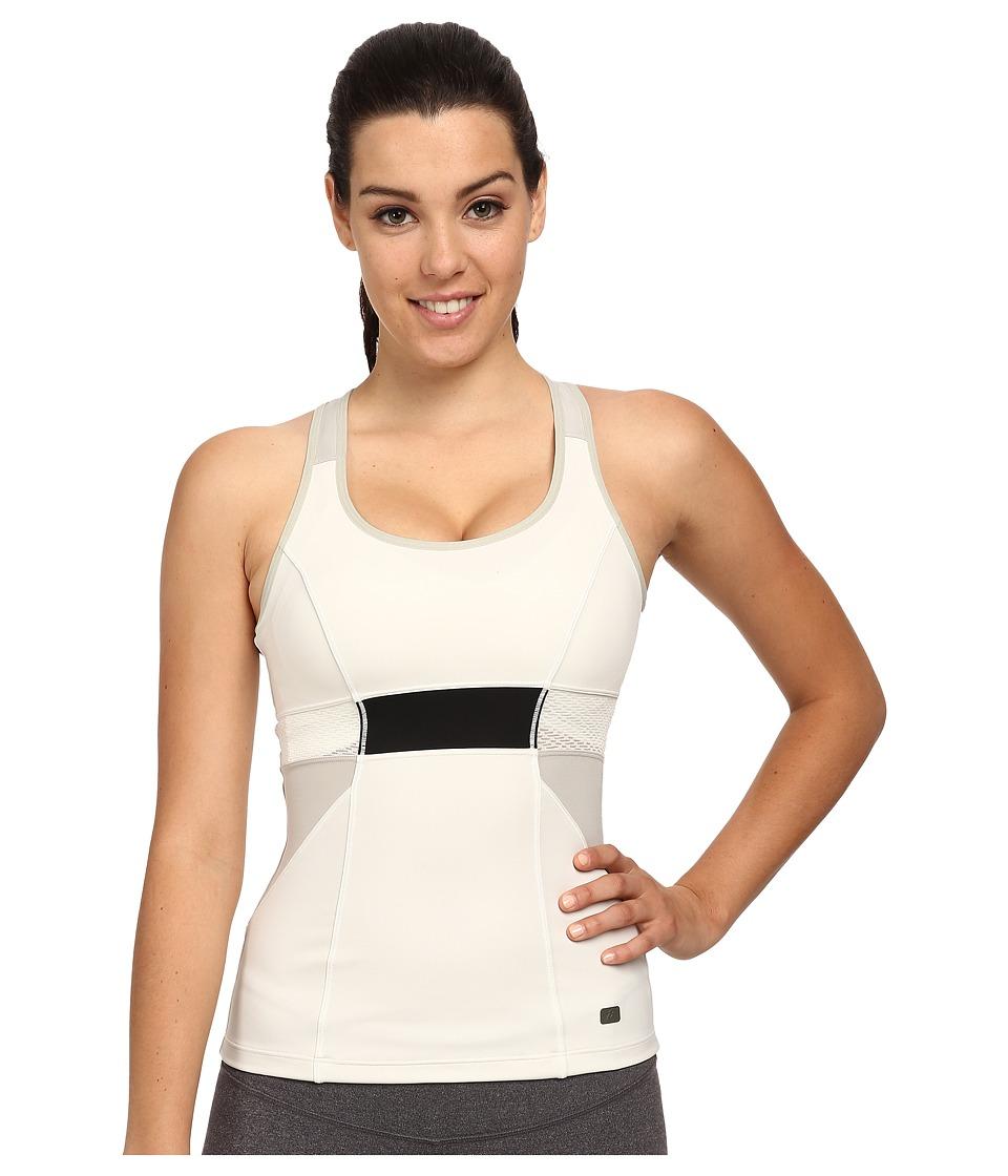 ASICS - Studio Fit Sana Slimcut Tank (Vanilla Ice) Women's Workout