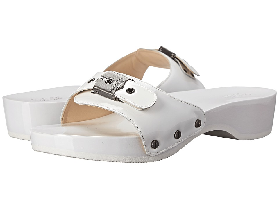 Dr. Scholl's - Original - Original Collection (Pearlized White) Women's Slide Shoes