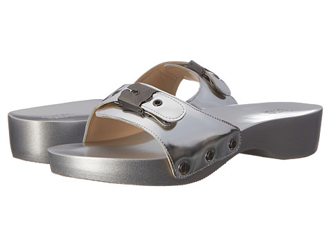 Dr. Scholl's - Original - Original Collection (Silver Metallic) Women's Slide Shoes
