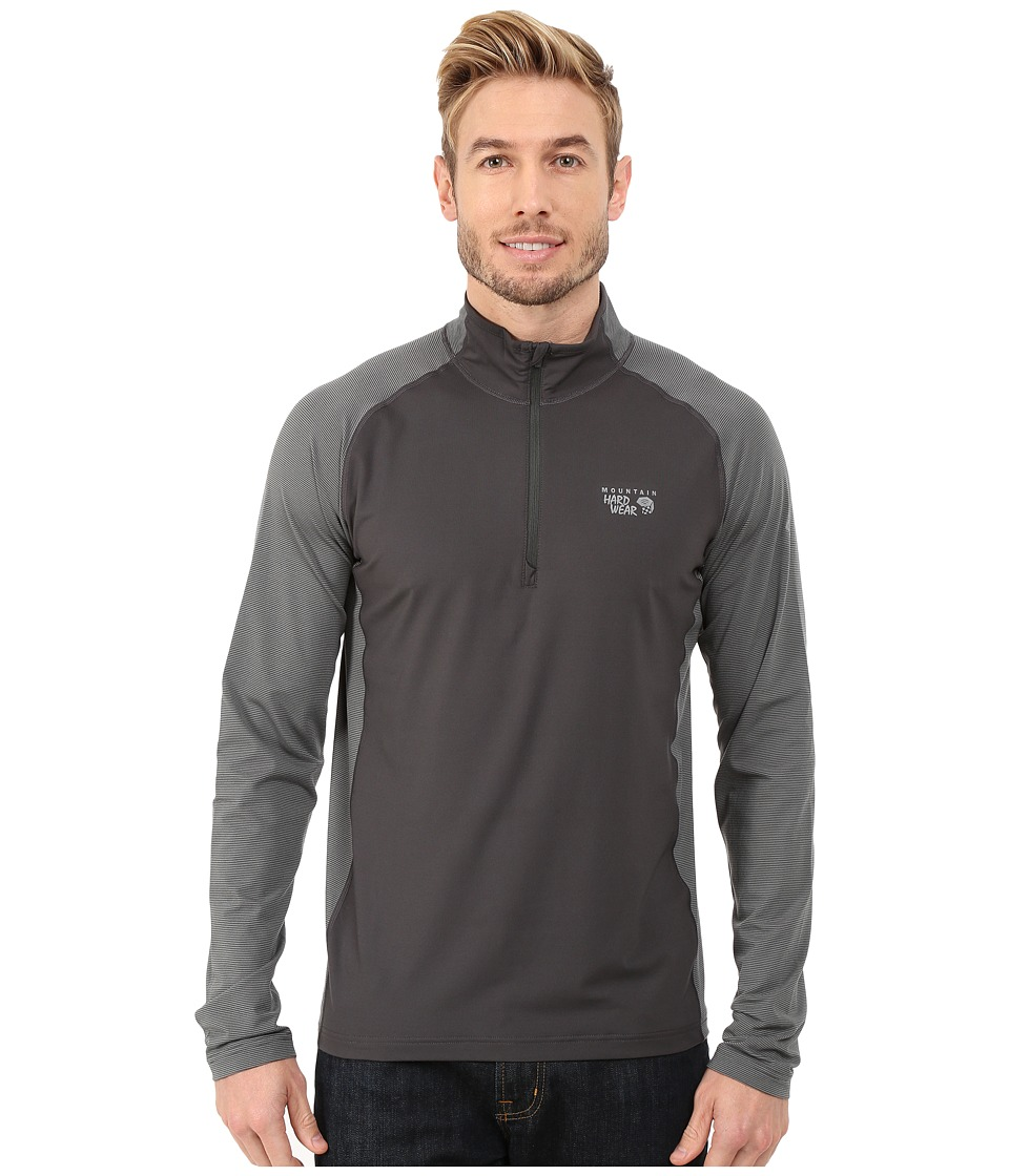Mountain Hardwear - Butterman 1/2 Zip Top (Shark) Men's Long Sleeve Pullover