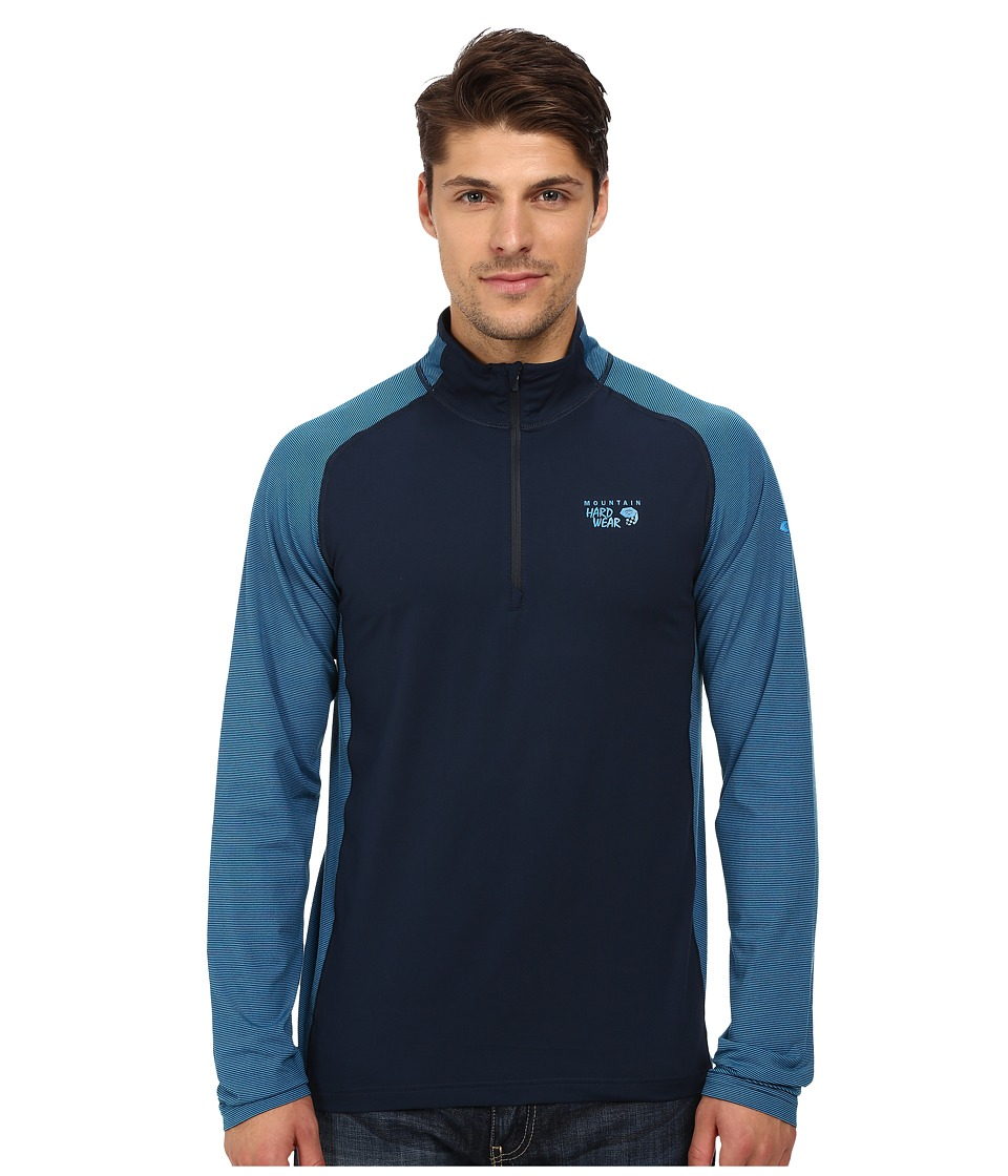 Mountain Hardwear - Butterman 1/2 Zip Top (Hardwear Navy) Men's Long Sleeve Pullover