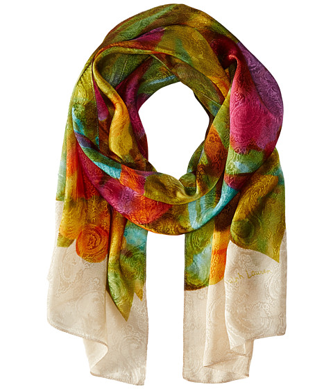 LAUREN by Ralph Lauren - Jenna Scarf (Cream) Scarves