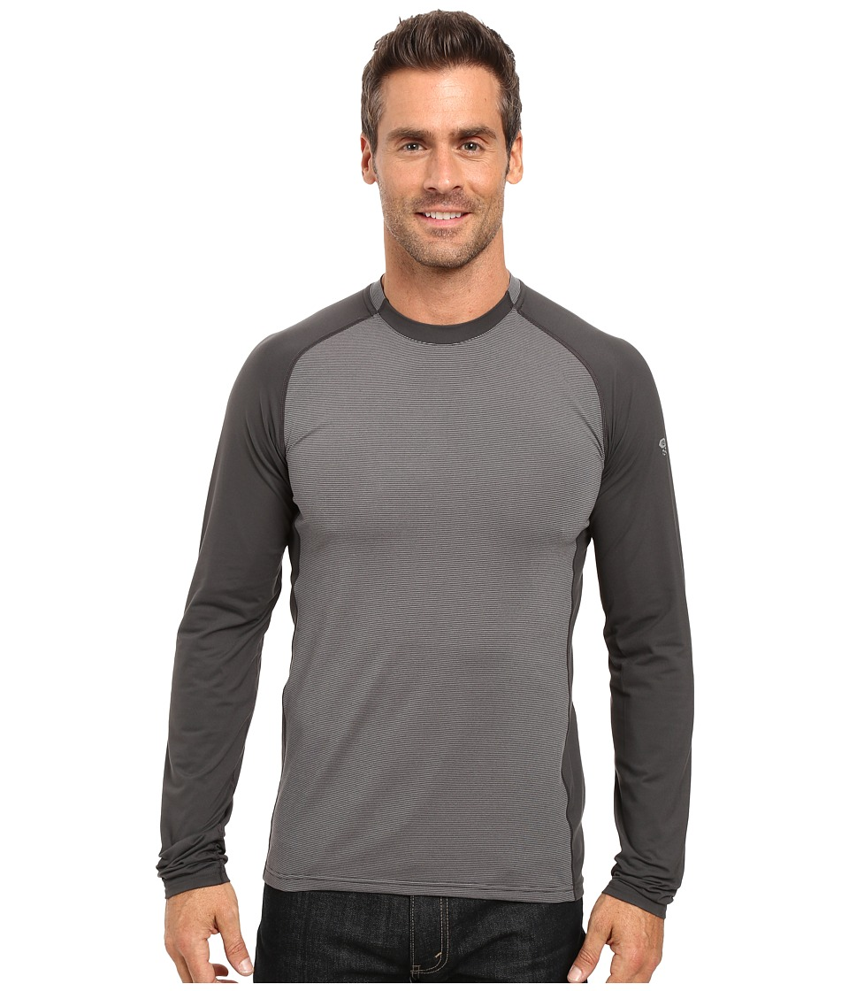 Mountain Hardwear - Butterman Crew (Shark) Men's Long Sleeve Pullover
